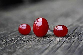 Sady šperkov - Sada šperkov zo skla - Večer pri vínku (n) - 6693518_