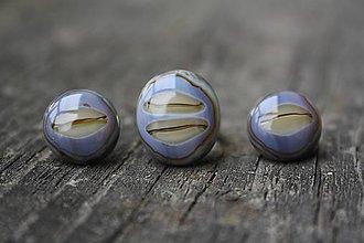 Sady šperkov - Sada šperkov zo skla - Roztopená čokoláda (o) - 6693545_