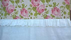 Úžitkový textil - Záves - Romantic Rose - - 6695797_
