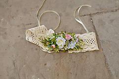 Opasky - Šípové ružičky - 6693745_
