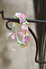Ozdoby do vlasov - Princezná ruží... - 6693758_