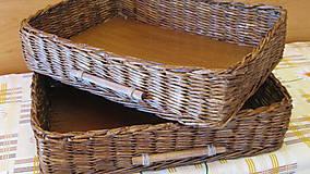Košíky - Košíky - Ebenové šuflíčky - 6693669_