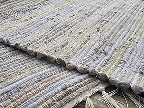 Úžitkový textil - RUČNE TKANÝ koberec cca70 x 150cm - 6694656_