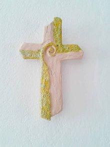 Socha - krížik na stenu II - 6693363_