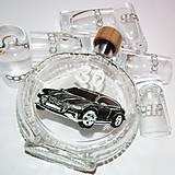 Iné - Ručne maľovaná fľaša auto k narodeninám:) Audi 9 na želanie - 6693370_