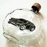 Iné - Ručne maľovaná fľaša auto k narodeninám:) Audi 9 na želanie - 6693371_