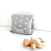 Detské doplnky - Organizér pre mamičky 1, sivý  ( obal na plienky ) - 6695680_