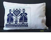 Úžitkový textil - Babka vankúšik Slovenské devy - 6695169_
