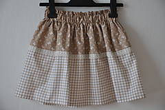 Detské oblečenie - Detská suknička - kakavko v hrnčeku♥♥♥ - 6696280_
