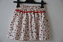 Detské oblečenie - Detská suknička - muchotrávka♥☺♥ - 6696306_