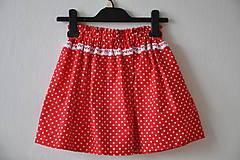 Detské oblečenie - Detská suknička - muchotrávka s korunkou♣♠♣ - 6696349_