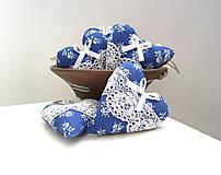 - Srdiečka folk...modré - 6695772_