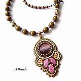 Náhrdelníky - Korálkový náhrdelník 589-0029 - 6699651_