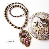 Náhrdelníky - Korálkový náhrdelník 589-0029 - 6699652_