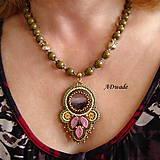 Náhrdelníky - Korálkový náhrdelník 589-0029 - 6699653_