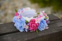 Ozdoby do vlasov - AKCIA parta by michelle flowers - 6697404_