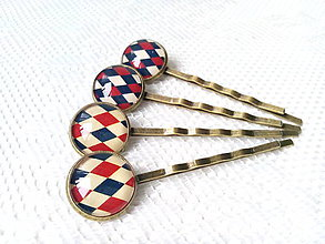 Ozdoby do vlasov - Vintage hair pins - 6699648_