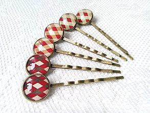 Ozdoby do vlasov - Vintage hair pins - 6699692_