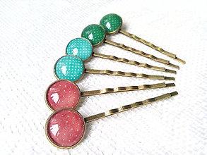 Ozdoby do vlasov - Vintage hair pins - 6699703_