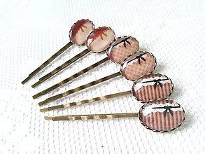 Ozdoby do vlasov - Vintage hair pins - 6699749_