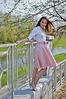 Sukne - Sukně ELIS, růžová - 6698577_