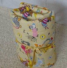 Úžitkový textil - Letná prikrývka 135x100-Veselé zvieratká - 6697603_