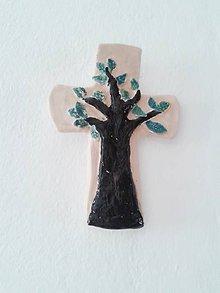 Socha - kríž na stenu III - 6697484_