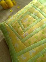 Úžitkový textil - Slnečný vankúš. . . - 6552839_