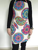 Iné oblečenie - Zástera mandalová - 6700556_