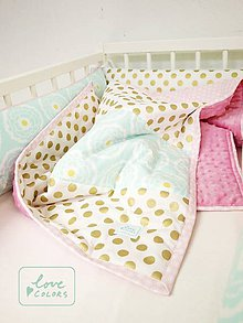 Textil - Glam Chic set do postielky - 6700611_