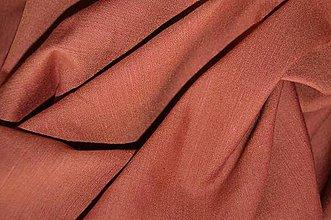 Textil - Ľan škoricový - 6697710_