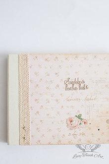 Papiernictvo - Svadobná kniha hostí M & M / na zákazku :) - 6697150_