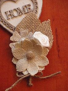 Pierka - Č. 71 vintage pierko pre ženícha, svedka, rodičov - 6700852_