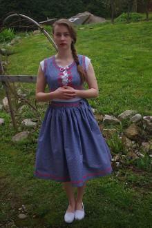 Iné oblečenie - Modrotlačová súprava - 6700272_