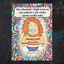 Papiernictvo - Zápisník jedál s vtipným citátom ,,Ako schudnúť