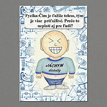 Papiernictvo - Zápisník jedál s vtipným citátom ,,Fyzikálne zákony - 6700933_