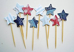 Dekorácie - Námornícke hviezdičky I - 6702658_