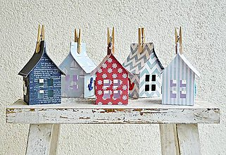 Dekorácie - Námornícke domčeky - 6702802_