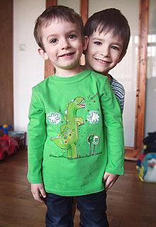 Detské oblečenie - Tričko pre