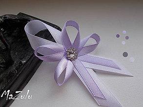Pierka - svadobné pierko v levanduľovom... - 6704797_