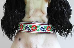 Pre zvieratká - Obojok Paľo - s ľudovým vzorom - 6702517_