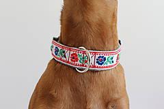Pre zvieratká - Obojok Paľo - s ľudovým vzorom - 6702539_