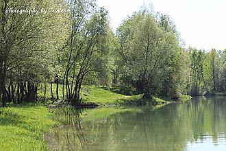 Fotografie - Autorská fotografia: Stretnutie pri jazere - 6704659_
