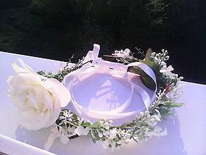 """Ozdoby do vlasov - Kvetinový venček do vlasov """"Z čistej lásky..."""" - 6701710_"""