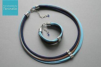 Sady šperkov - Náhrdelník a náramek © Být půvabná ... - 6704245_