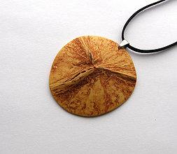 Náhrdelníky - Kokosový poklop - 6705257_