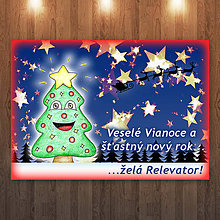 Papiernictvo - Vtipný vianočný stromček - 6705513_