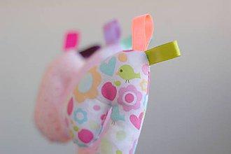 Hračky - ...žirafie tajomstvá... - 6706275_