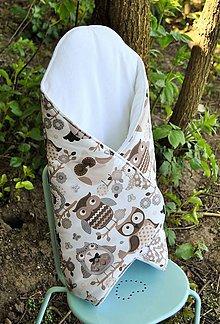 Textil - Zavinovačka sovička - 6705971_