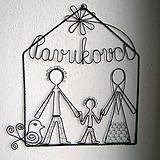 - svadobný darček- trojčlenná rodina - 6708245_
